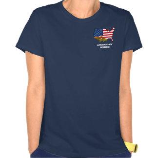 Camiseta americana del regalo de la enfermera remera