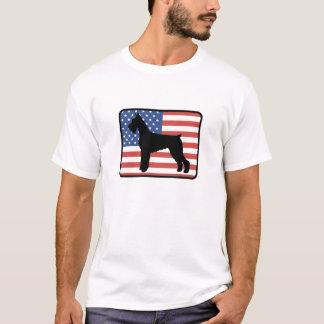 Camiseta americana del Schnauzer gigante