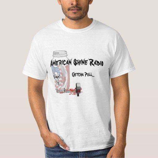 Camiseta americana del tirón de Getcha del brillo Playeras