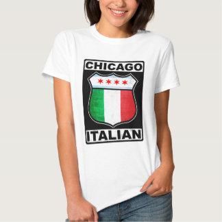 Camiseta americana italiana de Chicago Polera