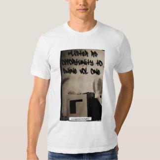 Camiseta americana para hombre adulta del amo RS Poleras