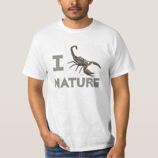 Camiseta amistosa de la naturaleza de Scorpian Poleras
