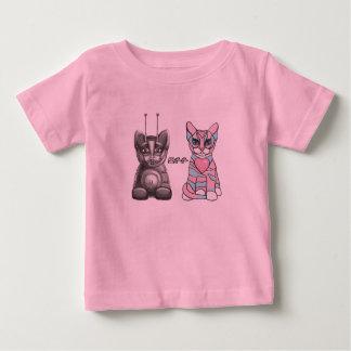 Camiseta amistosa de los gatos playera