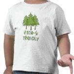 Camiseta amistosa del niño de Eco
