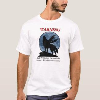 Camiseta amonestadora del lobo