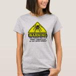 Camiseta amonestadora del Tarantula (acero ligero)