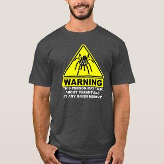 Camiseta amonestadora del Tarantula (gris)