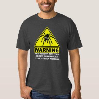 Camiseta amonestadora del Tarantula (gris) Playeras