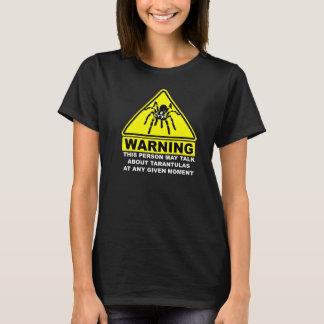 Camiseta amonestadora del Tarantula (negro)