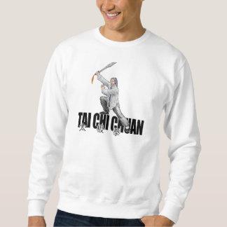 Camiseta amplia de la espada de la ji del Tai Sudadera Con Capucha