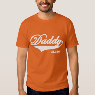 Camiseta anaranjada del papá (disponible en 24 remeras