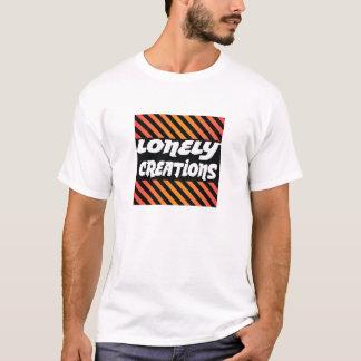 Camiseta anaranjada y amarilla de la raya de la