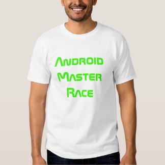 Camiseta androide de la raza principal remera