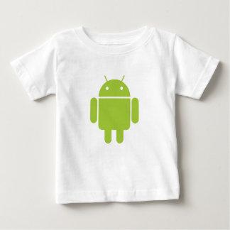 Camiseta androide infantil