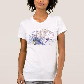 Camiseta angelical de Kitsune