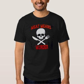 Camiseta animal de la liberación del vegano remeras