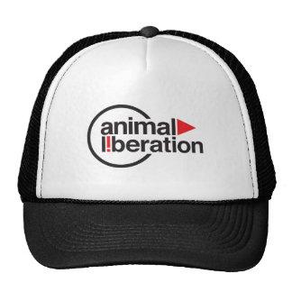 Camiseta animal de la liberación gorros bordados