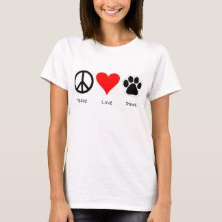 Camiseta animal del rescate de las colas felices