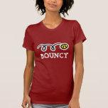 Camiseta animosa del tenis para las mujeres poleras