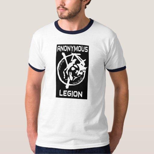 Camiseta anónima de la legión playera