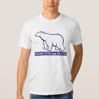 Camiseta antártica soviética de la expedición CCCP Playera
