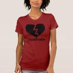 Camiseta anti afligida del el día de San Valentín