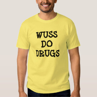 CAMISETA ANTI DE LAS DROGAS CAMISAS