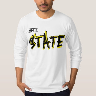 Camiseta anti del estado polera