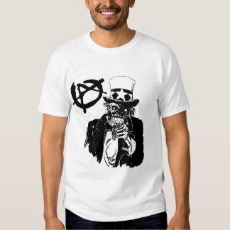 Camiseta anti del gobierno polera