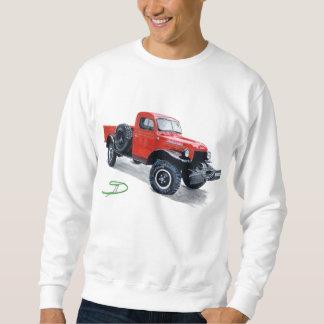 Camiseta antigua del camión del carro del poder pulover sudadera