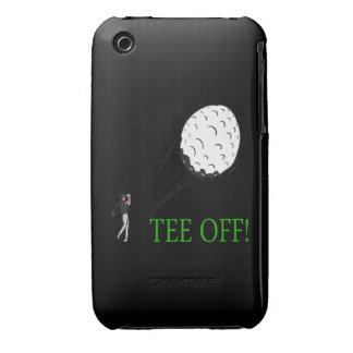 Camiseta apagado funda bareyly there para iPhone 3 de Case-Mate