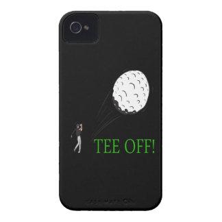 Camiseta apagado funda para iPhone 4 de Case-Mate