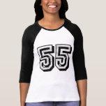 Camiseta apenada 55K 2sides de la rabia