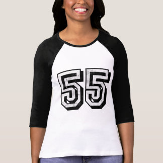 Camiseta apenada 55K 2sides de la rabia Remeras