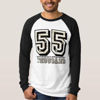 Camiseta apenada 55K de Java de la rabia Polera