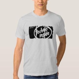Camiseta apenada de American Apparel de las cajas Remera
