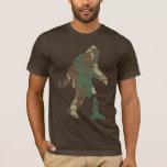 Camiseta apenada de Camo Sasquatch