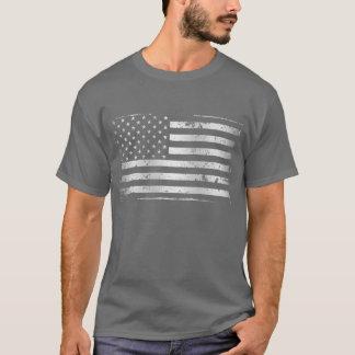 Camiseta apenada de la bandera americana II