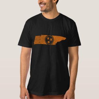 Camiseta apenada de la bandera de Tennessee de los Playeras