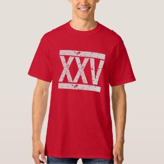 Camiseta APENADA del cumpleaños de los NÚMEROS Remeras