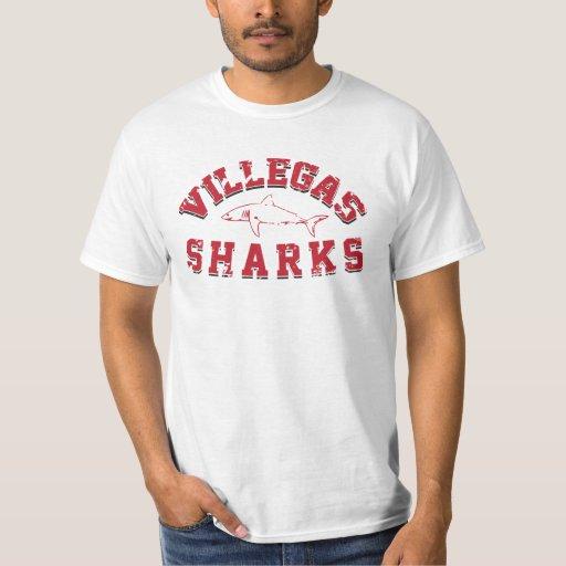 Camiseta apenada vintage de los tiburones de remeras