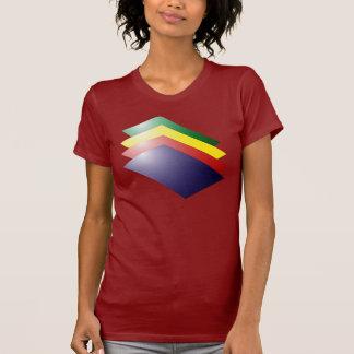 Camiseta apilada de las carpetas