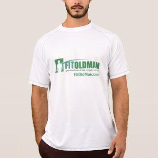 Camiseta apta del entrenamiento de la manga del