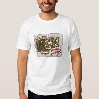 Camiseta arqueada de las señoras de la sinfonía polera