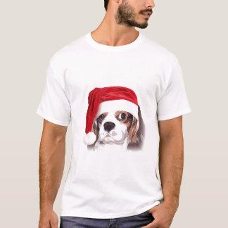 Camiseta arrogante de Santa del perro de aguas de