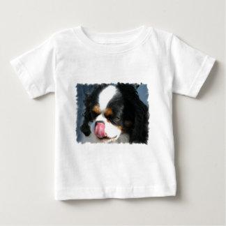 Camiseta arrogante linda del bebé del perro de playeras