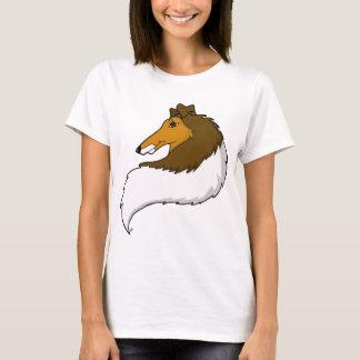 Camiseta áspera del collie