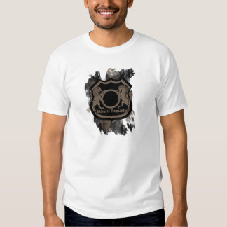 Camiseta atea de la república polera