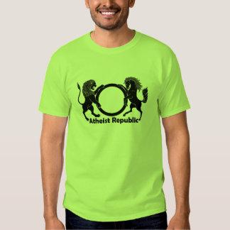 Camiseta atea de la república poleras