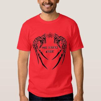 Camiseta atea de pensamiento libre camisas